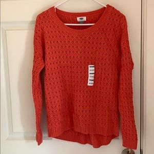 Peach Old Navy Sweater